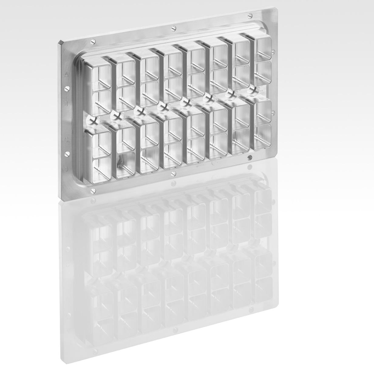 Fraisage - Centre d'usinage 5 axes - Embase de connecteur ARINC - Electronique et connectique